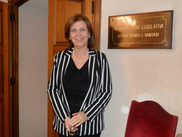 Margherita La Rocca Ruvolo, presidente della commissione Salute dell'Ars